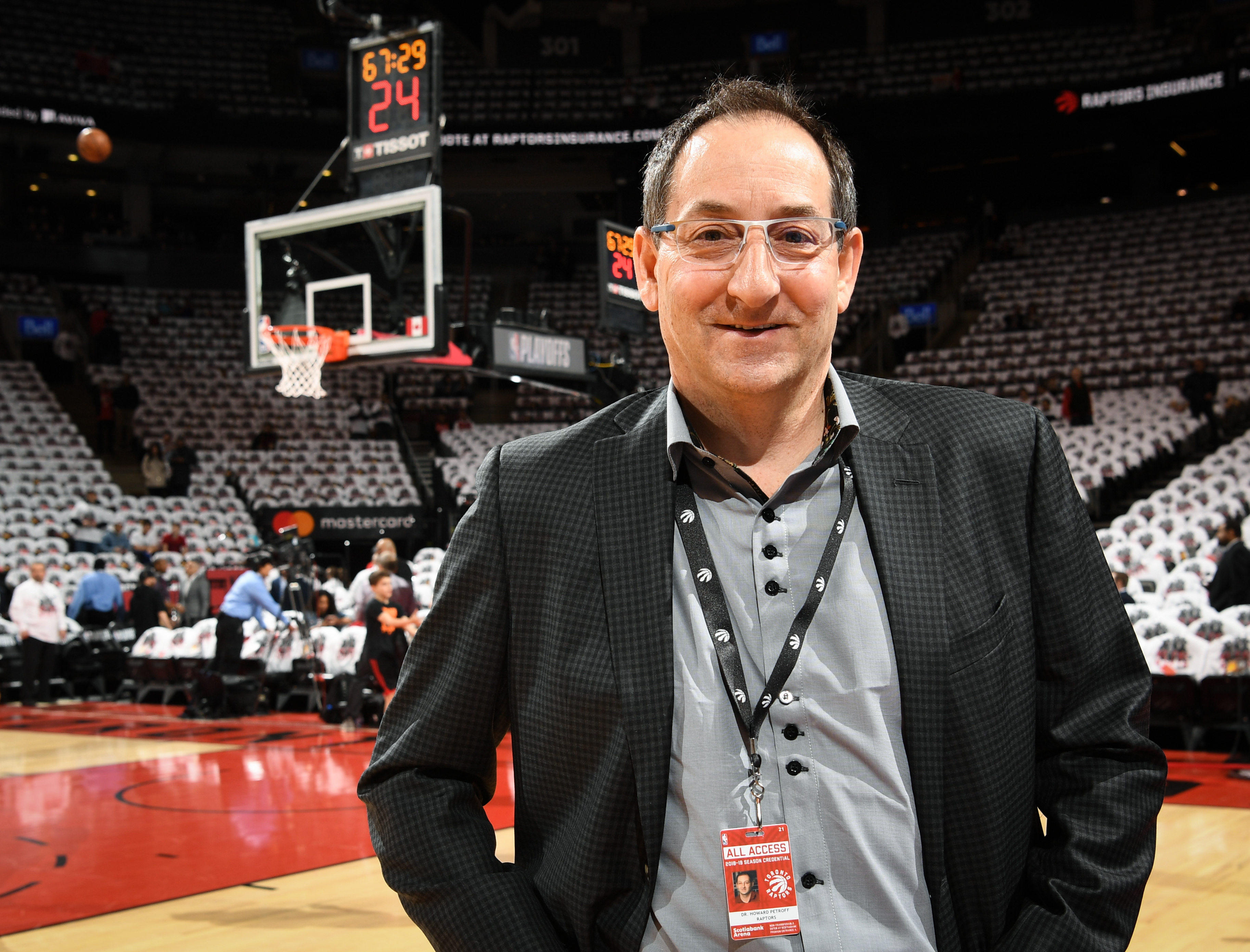 Howard Petroff Toronto Raptors Assistant Medical Director