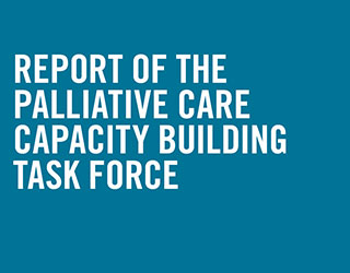 Palliative Care Task Force Report